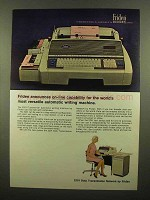 1965 Friden 2201 Flexowriter Auto Writing Machine Ad