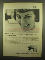 1965 Friden 2201 Flexowriter Auto Writing Machine Ad - Miss Jones