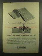 1965 Multigraph Multilith Offset Ad - Computer Tells