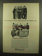 1965 Multigraph Multilith 1850 Ad - People Reading