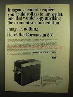 1965 SCM Coronastat 55 Copier Ad - Imagine