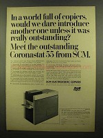 1965 SCM Coronastat 55 Copier Ad - Dare Introduce
