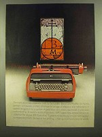 1965 IBM Executive Typewriter Ad - Bernardino Benali