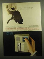 1965 IBM Executary 224 Dictating Unit Ad - Afraid?