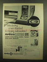 1965 Apeco Electric Eye Copier Ad - A New Standard