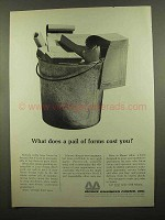 1965 Moore Business Forms Ad - What Does a Pail Cost