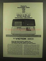 1965 Victor 3900 Calculator Ad - Incredible Little Chip