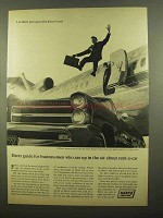1965 Hertz Rent-A-Car Ad - Guide for Businessmen