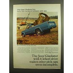 1965 Jeep Gladiator Pickup Ad - Twice the Traction