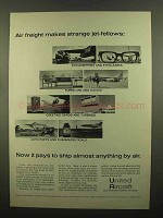 1965 United Aircraft Ad - Freight Strange Jet-Fellows