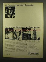 1965 Eastern Airlines Ad - Fly to Rotary Convention