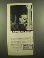 1965 Carte Blanche Card Ad - Hard To Get Great To Live