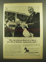 1965 American Mutual Liability Insurance Ad - Costs