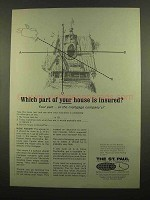 1965 The St. Paul Insurance Ad - Which Part Insured?