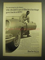 1965 Bache & Co Investment Bank Ad - Heritage