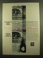 1965 New York Life Ad - Closely Held Stock Inherited
