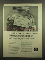 1965 New York Life Ad - Better Than a Bonus Now