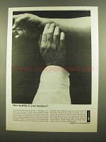 1965 American Cancer Society Ad - Healthy Business