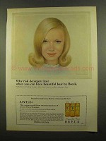 1965 Breck Shampoo Ad - Why Risk Detergent Hair