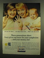 1965 Ivory Soap Ad - Three Generations Show