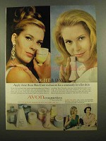 1965 Avon Cosmetics Ad - Night & Day