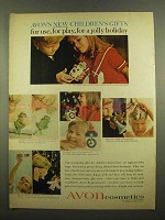 1965 Avon Cosmetics Ad - Children's Gifts
