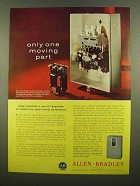 1965 Allen-Bradley Series K Starters Ad - One Moving