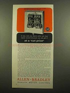 1965 Allen-Bradley Bulletin 715 Two-Speed Starter Ad