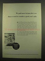 1965 Warner & Swasey Automatic Lathe Ad - More Taxes