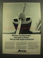 1965 Avco Lycoming Engine Ad - More Aircraft