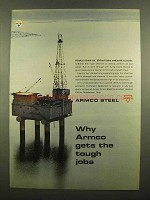 1965 Armco Steel Ad - Gets The Tough Jobs