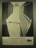 1965 Otis Elevator Ad - Waiting is For the Birds