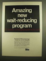1965 Otis Elevator Ad - Wait-Reducing Program