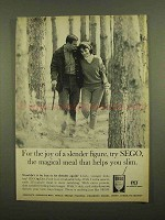 1965 Pet SEGO Diet Food Ad - a Slender Figure