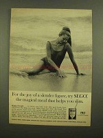 1965 Pet SEGO Diet Food Ad - Slender Figure