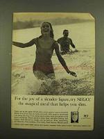 1965 Pet SEGO Diet Food Ad - Joy of Slender Figure