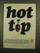 1965 AC Spark Plugs Ad - Hot Tip