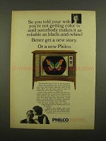 1965 Philco Color TV Ad - So You Told Your Wife