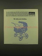 1965 Mead Packaging Bottle Master Cartons Ad - We Baby