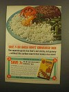 1965 Uncle Ben's Converted Rice Ad - Save