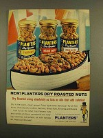 1965 Planters Dry Roasted Nuts Ad