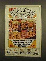 1965 Planters Dry Roasted Nuts Ad - No Fats Or Oils