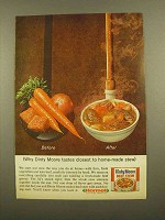 1965 Dinty Moore Beef Stew Ad - Closest