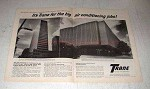1965 Trane Air Conditioning Ad - Adams Petroleum Center