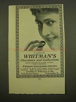 1899 Whitman's Chocolates and Confections Ad