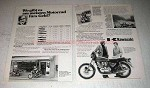 1977 Kawasaki Z650 Motorcycle Ad - in German
