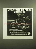 1978 Puch Moped Ad - We Have Seen the Future