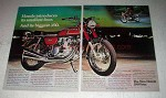1972 Honda 350 Four Motorcycle Ad - Its Smallest Four