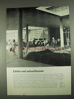 1967 Georgia Development Ad - Little Red Schoolhouse