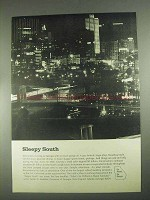 1967 Georgia Development Ad - Sleepy South